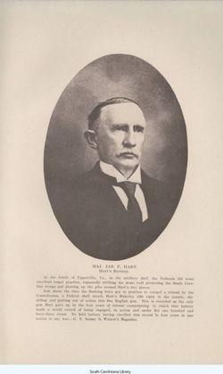 Maj James Franklin Hart