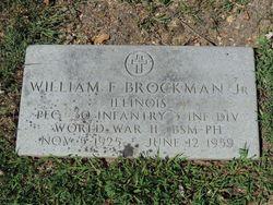 William F. Brockman Jr.