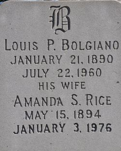 Louis P Bolgiano