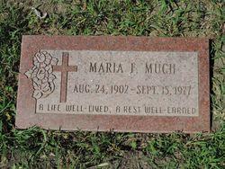 """Maria Francesca """"Mary"""" <I>Bayer</I> Much"""