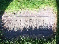 Phoebe S <I>Saint</I> Baker