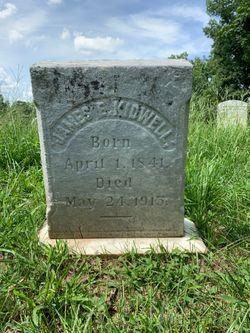 Pvt James E. Kidwell