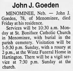 John Joseph Goeden