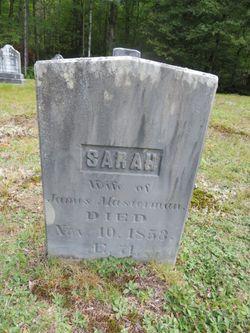 Sarah <I>Newman</I> Masterman