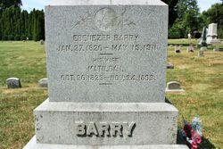 Ebenezer E Barry