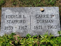 Carrie Louise <I>Orcutt</I> Stafford Dorman
