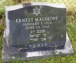 "Ernest ""Ernie"" Mauskopf"