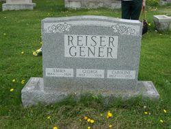 Caroline <I>Schultz</I> Reiser