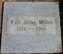 Kate <I>Selby</I> Wilder