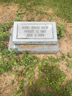 Agnes <I>Hogan</I> Blum