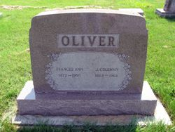 Frances <I>Garrett</I> Oliver