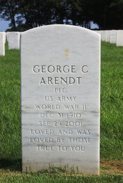 George C Arendt