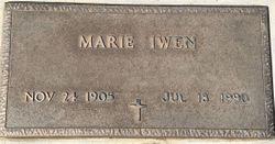 Marie Elizabeth <I>Stover</I> Iwen