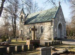 Katolska Kyrkogården I Stockholm