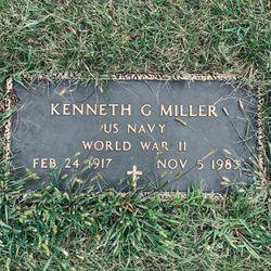 """Kenneth Gordon """"Kenny"""" Miller"""