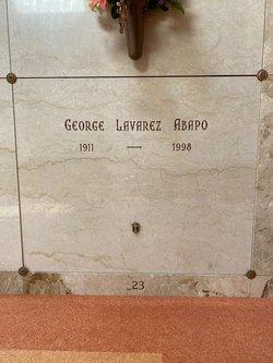 George Lavarez Abapo