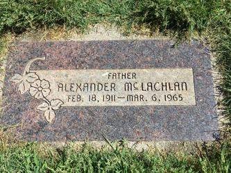 Alexander McLachlan Jr.