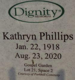 Kathryn <I>Plant</I> Phillips