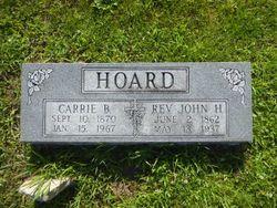 Rev John Henry Hoard