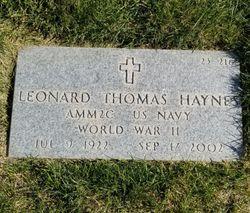 Leonard Thomas Haynes