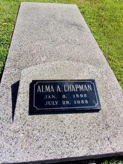 Alma Aletha <I>Fordyce</I> Chapman