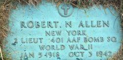 2LT Robert Nye Allen