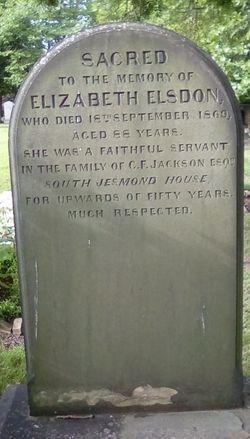 Elizabeth Elsdon
