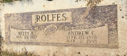 Andrew Clement Rolfes