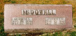Irma E. <I>Ellis</I> McDowell