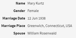 Mary <I>Kurtz</I> Rosenwald