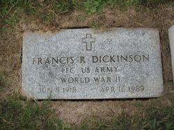 Francis R Dickinson