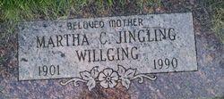 Martha C <I>Jingling</I> Willging