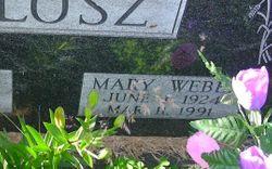 Mary <I>Weber</I> Blosz