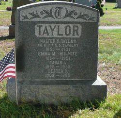 Walter O. Taylor