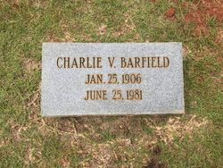 "Charlie Vivian ""C.V."" Barfield"