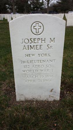 Joseph M. Aimee Sr.