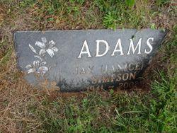 """Janice Lorraine """"Jay"""" <I>Simpson</I> Adams"""