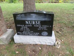 """Gerald Austin """"Gerry"""" Nurse"""