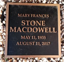 Mary Frances <I>Stone</I> MacDowell