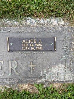 Alice J. <I>Burbee</I> Boger