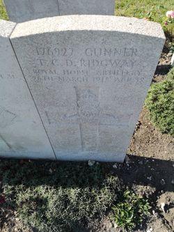 Gnr Thomas Charles David Ridgway