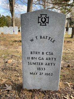 Pvt W. T. Battle