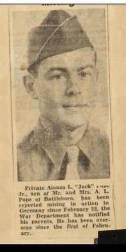 Alonzo L Pope Jr.