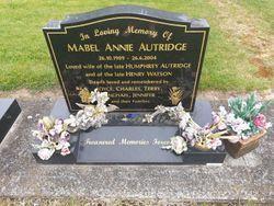 Mabel Annie <I>Ryan</I> Autridge