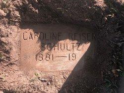 Caroline <I>Reiser</I> Schultz