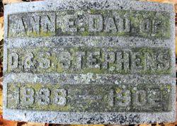 Anna E. <I>Stephens</I> Lewis