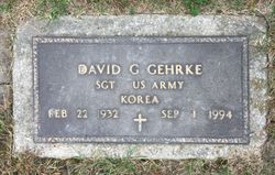 David G Gehrke