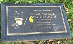 Brian Patrick McCullagh