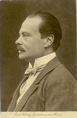 """Ernst Ludwig V. Karl Albrecht Wilhelm """"Ernie"""" von Hessen-Darmstadt"""