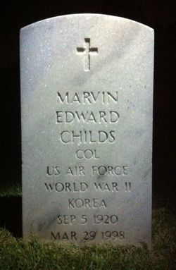 COL Marvin Edward Childs